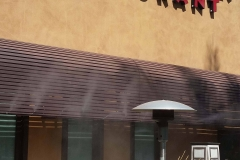 Restaurant and Outdoor Patio Misters