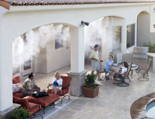 Misting and Moisture in a Dry Climate