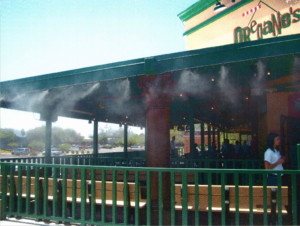 Restaurant Patio Misting by MistAir for Oregano's Restaurant