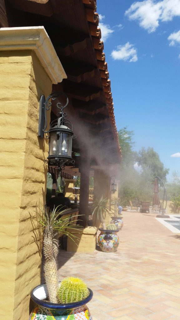 Professional Misting Systems & Outdoor Misters | MistAir AZ