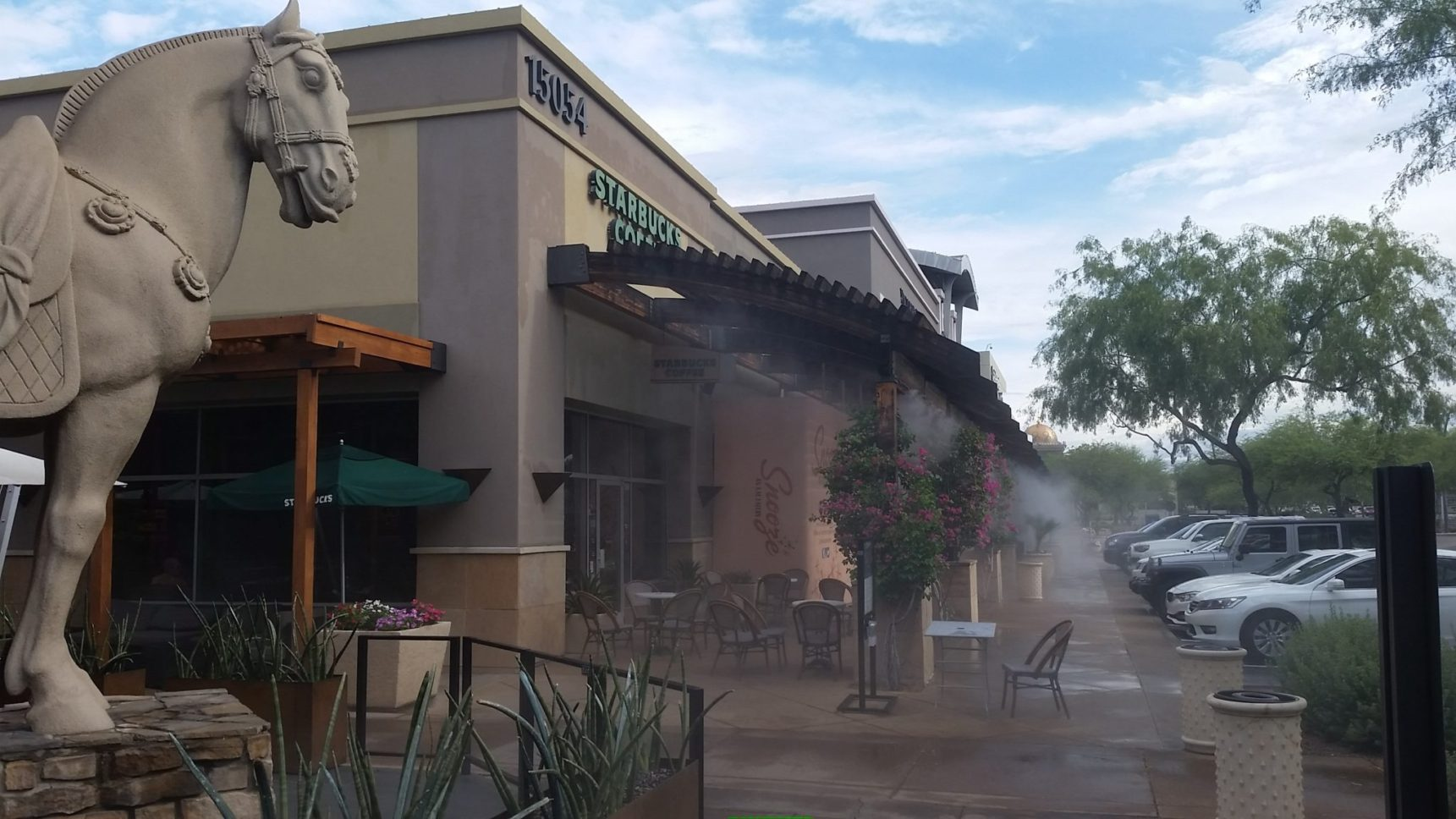 youtube cooling mistcooling patio inc misters by mist commercial watch mister system restaurant
