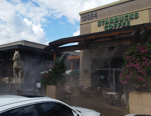 How Can Air Misting Systems Save Your from Arizona's Dry Summer Heat?